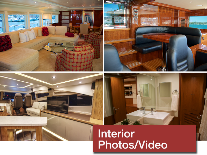services yacht interior